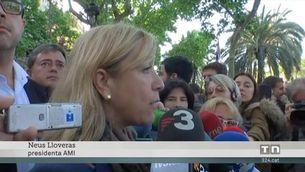 Govern, partits i entitats sobiranistes donen suport a Forcadell i Simó