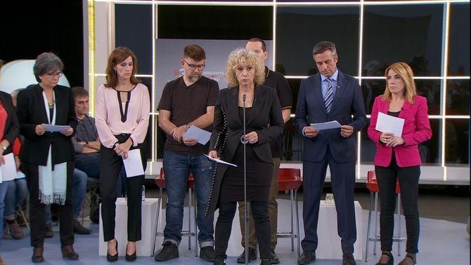 TV3, Catalunya Ràdio i l'ACN, contra la intervenció dels mitjans públics arran del 155