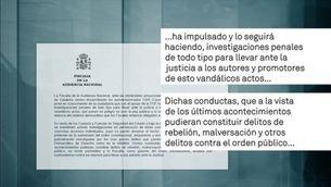 La fiscalia anuncia accions penals contra els CDRs