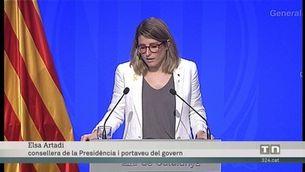 El govern desitja que la reunió entre Torra i Sánchez es faci com més aviat millor