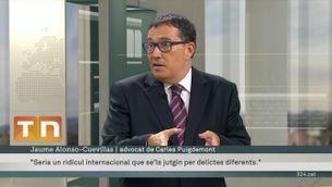 """Alonso-Cuevillas: """"El tribunal alemany descarta amb molta contundència el delicte de rebel·lió"""""""