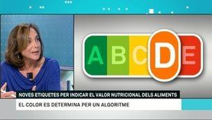 La nutricionista Montse Sanahuja explica el sistema Nutri-score