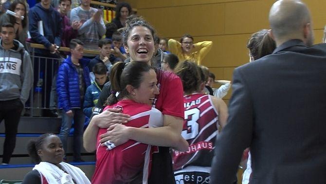 L'Uni Girona supera al Cadí La Seu i es classifica per a la final de la Lliga femenina (73-74)