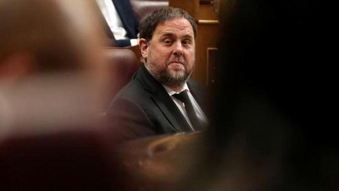 Oriol Junqueras al Congrés dels Diputats, en una imatge d'arxiu (Reuters)