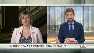 """Alba Vergés: """"Tenim eines noves per assistir la gent gran, el col·lectiu més vulnerable"""""""