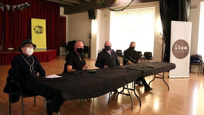 Ferran Garcia Sevilla estrena al Casino de Granollers el seu nou projecte artístic, 'La humanitat'