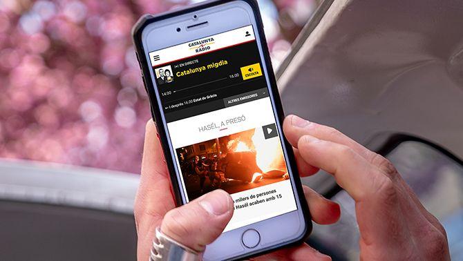 Catalunya Ràdio obté la tercera millor audiència digital de la seva història