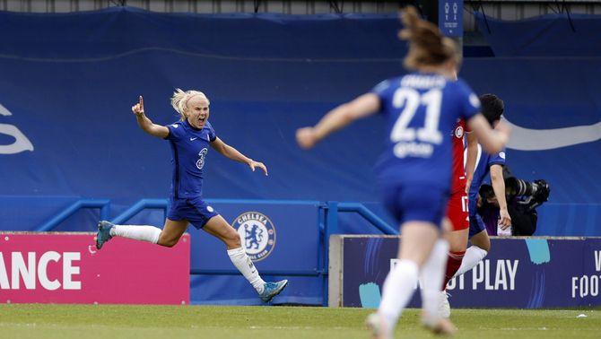 El Chelsea es classifica per primer cop per disputar la final de la Champions (4-1)