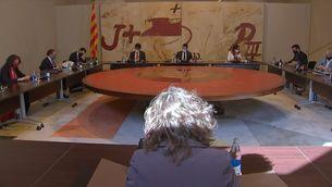 Ni Aragonès, ni Puigneró. Serà la consellera Vilagrà qui coincidirà amb el rei al sopar del Cercle d'Economia
