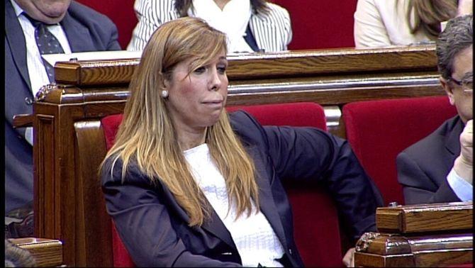 La líder del PPC, Alícia Sánchez-Camacho.