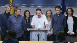 Declaracions de Pablo Iglesias