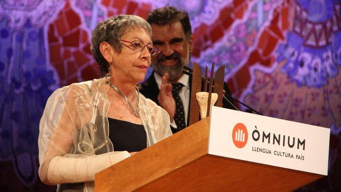 Maria-Antònia Oliver rep el Premi d'Honor de les Lletres Catalanes