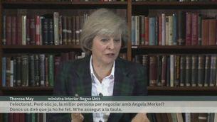 La ministra d'Interior, Theresa May, favorita per succeir Cameron