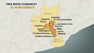 El Montserratí vol ser una nova comarca