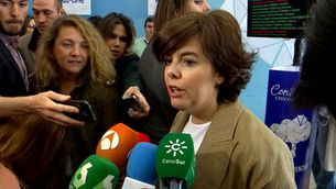 "Sáenz de Santamaría sobre Puigdemont: ""Guanyarem nosaltres"""