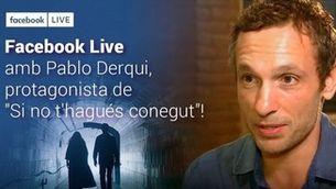 """Pablo Derqui: """"La sèrie és una història d'amor quàntica"""""""