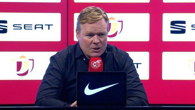 """Koeman: """"És la meva millor nit com a entrenador del Barça"""""""