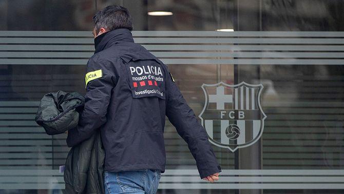 FAQS sobre l'atestat dels Mossos sobre el cas Barçagate