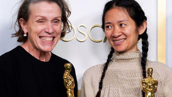 """""""Nomadland"""", triomfadora en una nit de premis molt repartits: tots els Oscars 2021"""