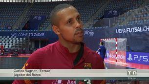 Barça-Sporting de Portugal, final de la Champions de futbol-sala per Esport3