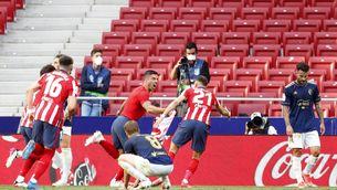 Luis Suárez dona els tres punts a l'Atlètic de Madrid en un final agònic (2-1)