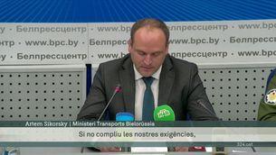 Bielorússia justifica l'aterratge forçat de l'avió de Ryanair