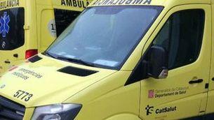 Dues ambulàncies del SEM