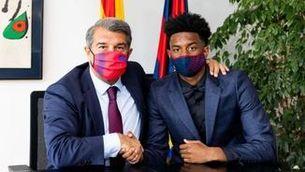 Alejandro Balde renova amb el Barça fins al 2024