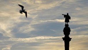 Estàtua de Colom i gavina