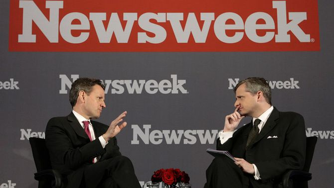 "John Meacham, director executiu de la revista ""Newsweek"""