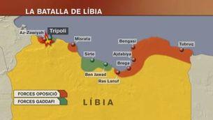 Impàs en la lluita pel poder a Líbia