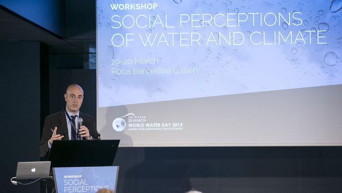 """Conferències del Taller """"Percepció social de l'aigua i el clima"""" (We Are Water)"""