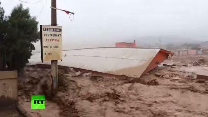 Riuada del Copiapó, Atacama (José Daniel Buegueño)
