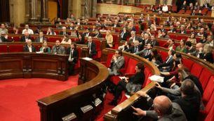 El Parlament haurà de debatre si es modifica o no un tram de l'IRPF