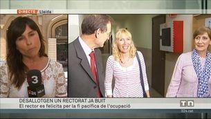 Els Mossos entren al rectorat de la universitat de Lleida, però el troben buit