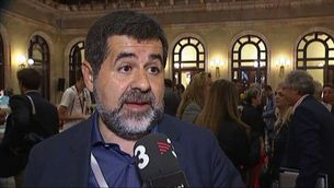 Les entitats sobiranistes celebren la proposta de referèndum de Puigdemont
