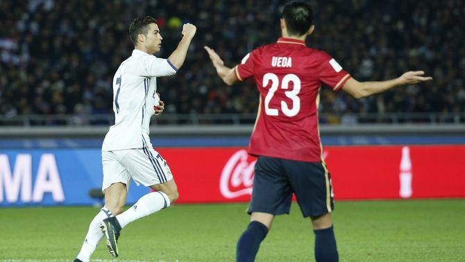 El Reial Madrid guanya el Mundial de Clubs en superar el Kashima Antlers en la pròrroga (4-2)