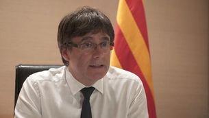 """Entrevista íntegra al President de la Generalitat de Catalunya, Carles Puigdemont, per al reportatge """"Els dies clau"""""""