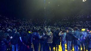 """Junts per cantar """"Tots junts"""" al Concert per la Llibertat"""