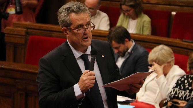 Joaquim Forn renuncia a l'acta de diputat al Parlament