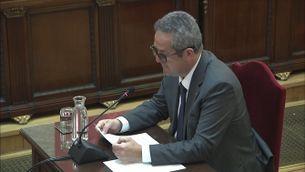 Judici procés: l'al·legat final de l'exconseller d'Interior Joaquim Forn