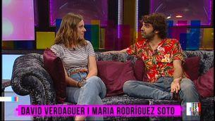 David Verdaguer i Maria Rodríguez Soto, la paternitat dins i fora de la pantalla