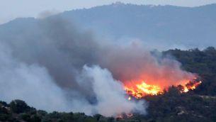 Més hectàrees cremades a l'incendi de la Ribera d'Ebre que els últims 3 anys junts