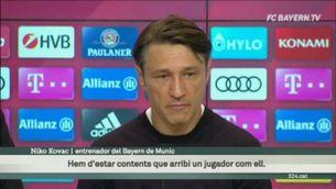 """Kovac: """"Coutinho s'adaptarà bé al Bayern"""""""