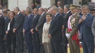 Teresa Cunillera a l'acte de la patrona de la Guàrdia Civil