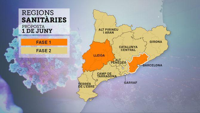 Salut proposa unificar l'àrea metropolitana i passar a fase 2 Girona i Catalunya Central