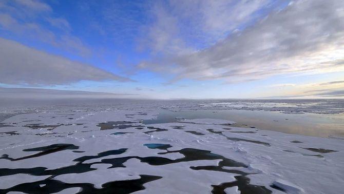Aconsegueixen crear un nou mapa digital de l'oceà Àrtic, el més complet i detallat fins ara