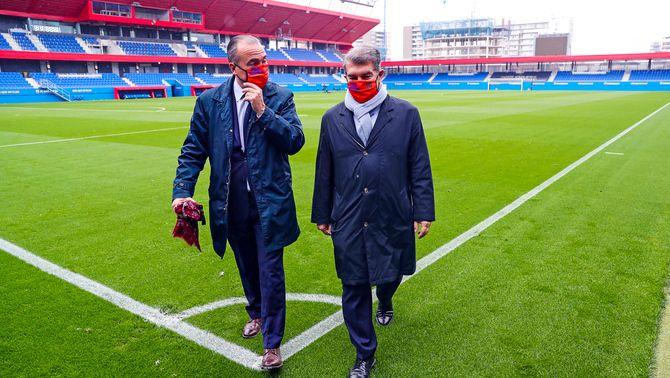 Laporta podria ser investit president del Barça el 16 de març