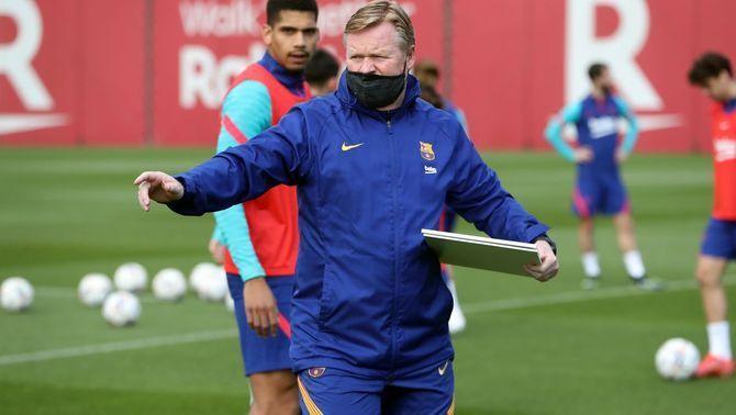 """Koeman: """"Necessitarem el millor Messi i el millor Barça"""""""