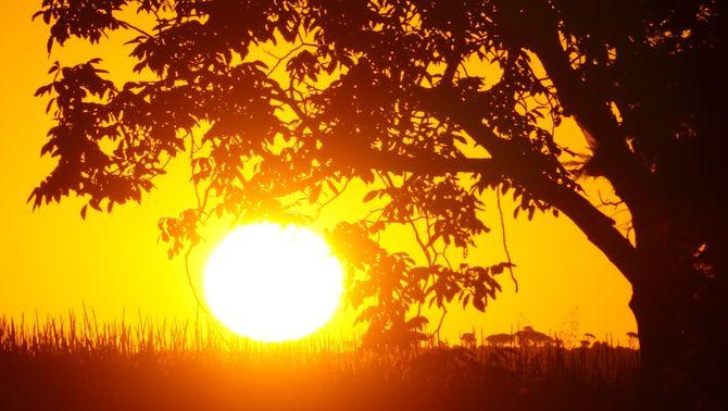 Protegeix-te del sol, que crema tant com a principis d'agost